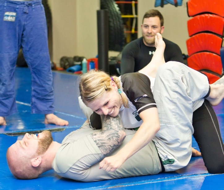 Titans Fitness - Womens BJJ - September 2014_85